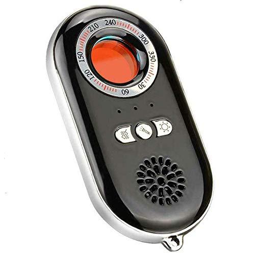 Detector De Cámara Anti Espía, Detector De Errores De Señal De RF, Buscador De Dispositivos De Seguimiento gsm, para Detector De Señal De Cámara Oculta De Errores De Audio Inalámbrico,Negro