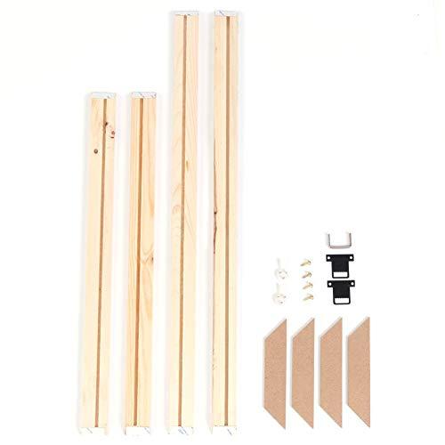 Prosperveil - Bastidor de madera para lienzo (40 x 50 cm)