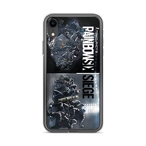 Lopenuter Rainbow six Siege Case Cover Compatible for iPhone (XR)