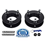 Supreme Suspensions - 2.5' Front Lift Kit for 2004-2020 Ford F-150 High Carbon Steel Strut Spacers Leveling Kit 2WD 4WD