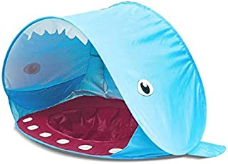 Baby Beach Tent with Sun Shade and Mini Pool Portable Folding pop Up Tent Kids Beach Game House for Outdoor Using