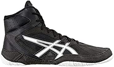 ASICS Matcontrol Men's Wrestling Shoe, Performance Black/White, 11 M US