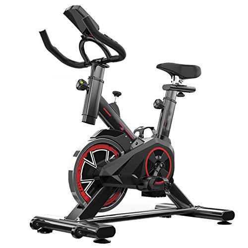 Bicicleta EstáTica para El Hogar, Equipo Deportivo Ultra Silencioso, Bicicleta Giratoria De Carga De 250 Kg, para Fitness En Interiores