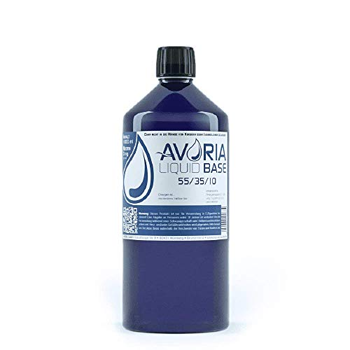 Avoria Deutsche Liquid Basen  0mg/ml VPG (55/35/10), 1er Pack (1 x 1 l)