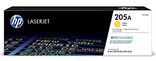 HP 205A (CF532A) Gelb Original Toner für HP LaserJet Pro M180, HP LaserJet Pro M181