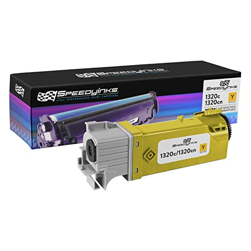 Speedy Inks Compatible Toner Cartridge Replacement for Dell KU054|310-9062 High Yield (Yellow)