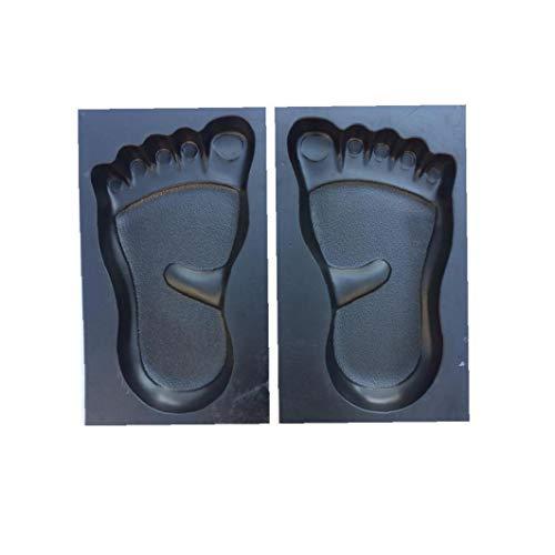 profesional ranking DIY Foot Pattern Walk Reutilizable Foam Concrete Step Patio Maker… elección