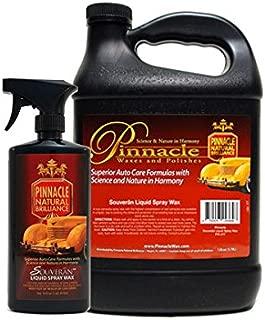 PINNACLE Souveran Liquid Spray Wax Gallon & 16 oz. Combo