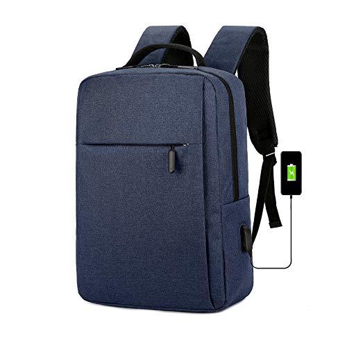 Mars Jun Laptop Rucksack 15.6 Zoll Schulrucksack Reise Daypack Wasserabweisende Laptoptasche mit USB-Ladeanschluss für Reisen/Business/College/Frauen/Männer