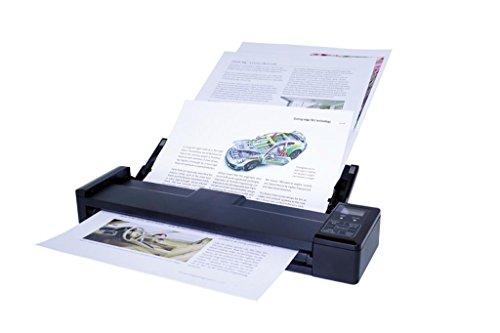 IRIScan - Pro 3 WiFi I Compatibile con Smartphone, Tablet e Computer I Scansiona Documenti, Foto, Biglietti da Visita I Connessione WiFi - Nero