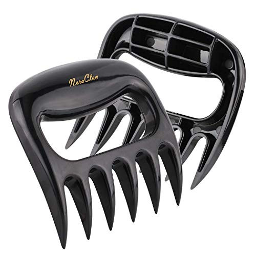 Best Price! RSVLEISI Bear Claws Meat Shredder - BBQ Claws Pulled Meat Handler Fork Paws Easy Machine...
