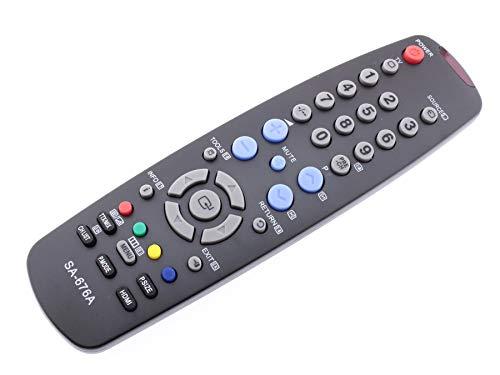Frompt2y Mando a Distancia de reemplazo para Televisores LCD TV Samsung BN59-00676A SA-676A [Sin Configuración o Programación ]