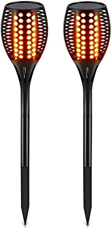 Solarweg Fackeln Lichter Tanzen Flamme Beleuchtung LED Flackern Fackeln Im Freien Wasserdicht