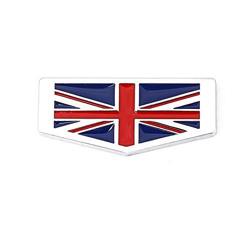 Stemmi e decorazioni per auto Autoadesivo auto Italia Germania Francia Inghilterra Bandiera Bandiera Emblema Distintivo Decalcomanie compatibili con BMW Audi Honda Opel Lada Toyota Chevrolet Ford Seat