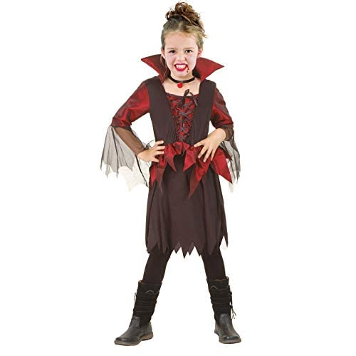 Ciao Costume Vampirella tg.M (5-7 anni) per Bambini, Nero/Rosso, 61161.M