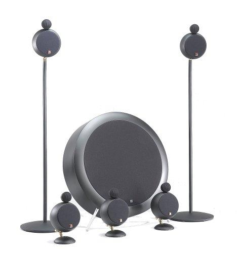 peerless satellite speakers Morel Applause MKII SoundSpot 5.1 Speaker System (Black)