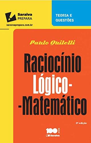 Raciocínio lógico matemático para concursos - 3ª edição de 2015