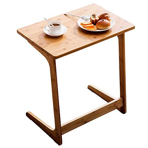 Table De Coin/Table De Loisirs D'ordinateur Table D'appoint De Canapé en Bambou De Mode Coin De Personnalité/Table De Thé Zhuo Bureau D'ordinateur Portable De Chevet (Size : 60x40x65cm)