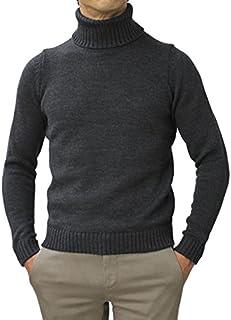 ZANONE ウール ミドルゲージ(5G) ニット タートルネック セーター