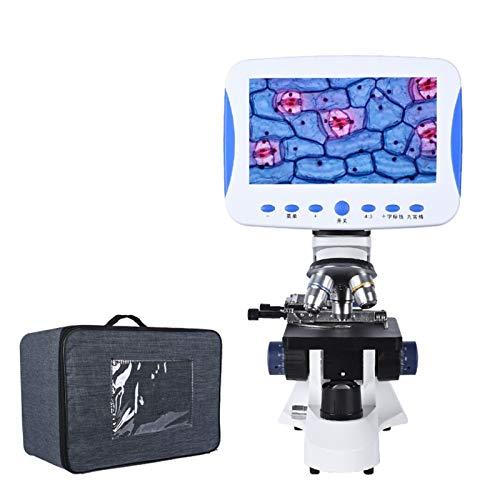 Microscopio, versión de TV LCD 7 en Microscopio 2000X ZOOM DIGITAL HD COAXIAL Fino Tuning Lab LED LED