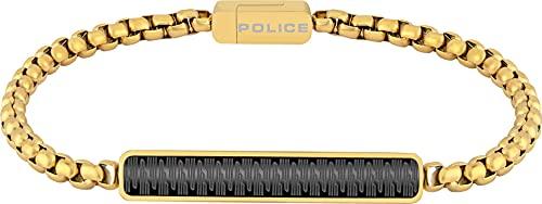 Police Cadena pulsera Hombre acero inoxidable - PJ26474BSG.02