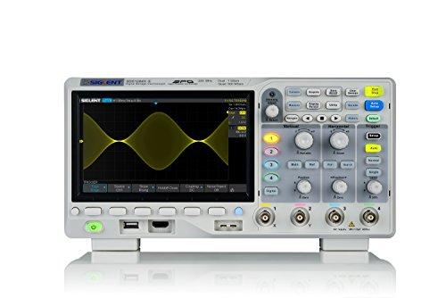 Siglent sds1204X -E-Osciloscopio 4x 200MHz