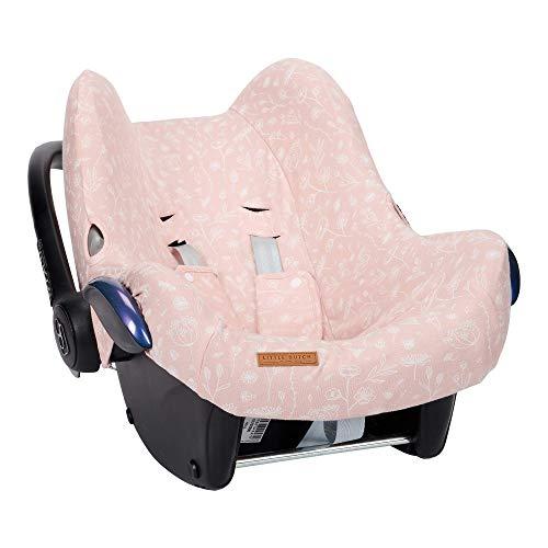 Little Dutch TE40421050 Bezug für Babyschale Wild Flowers rosa