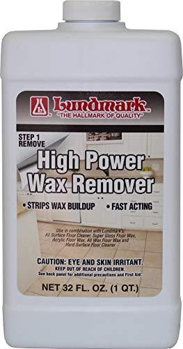 Lundmark High Power Wax Remover, Commercial Strength Floor Wax Stripper, 32-Ounce, 3204F32-6