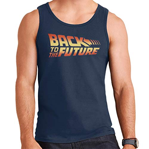 Men's Official Back to the Future Logo Vest Top, S to XXL