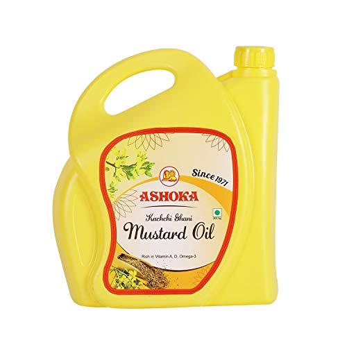 Ashoka Kachi Ghani Mustard Oil (5 L)