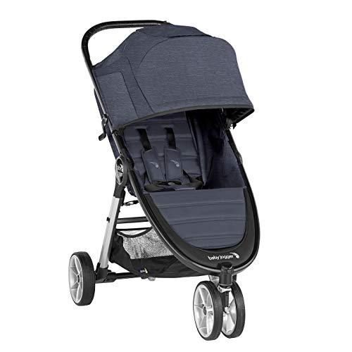 Baby Jogger City Mini 2 de 3 Ruedas Carbón. Silla de paseo desde nacimiento hasta 22kg. Color carbón