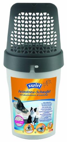 Swirl Feinstreu-Schaufel, 1-2 mm Siebdurchmesser