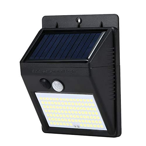 Solarlampen Für außen Mit Bewegungsmelder,110LED Solarpanel Bewegungserkennungslampe IP65 Wasserdicht Bewegungsmelder für Sonnenkollektoren