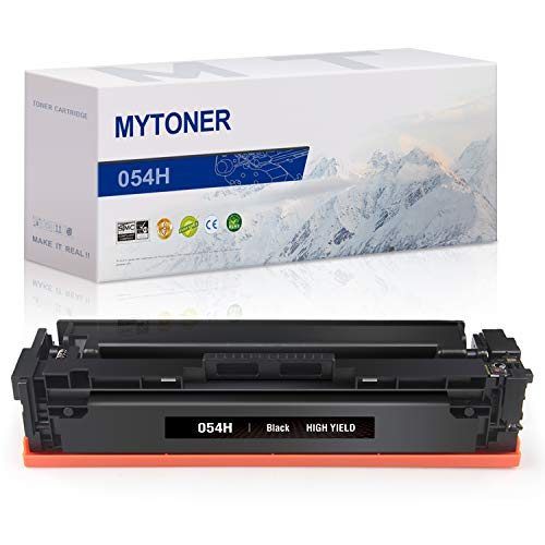 MYTONER Compatible Toner Cartridge Replacement for Canon 054 CRG-054H High Yield for Canon Color Image Class MF644Cdw MF642Cdw MF640C LBP622Cdw LBP620 Printer (Black, 1-Pack)