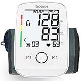 Beurer BM 45 Misuratore di Pressione da Braccio con Funzione di Memoria, Rilevazione Aritmie e Display XL...
