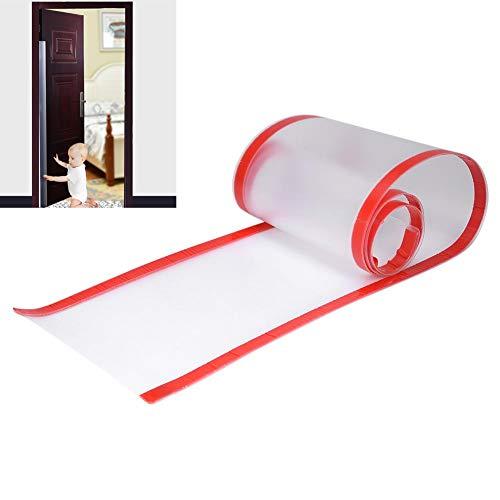 Protector de pellizcos para dedos, Protector de pellizcos para puertas seguras Protector de dedos para bebés Costura de puertas Prevención de pellizcos para bebés Niños(Escarchado)