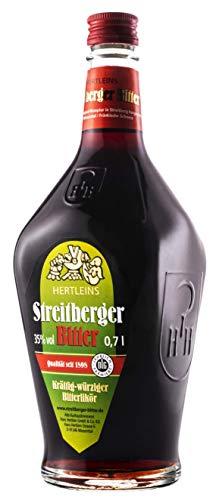 Streitberger Bitter | kräftig-würzier Bitterlikör | 0,7l. Flasche