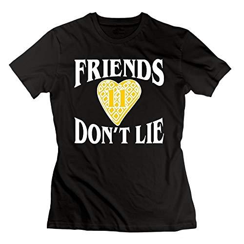 Las Amigas no mienten Waffle Heart 11.PNG Camiseta Algodón