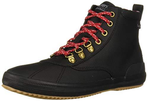 Keds Damen Scout Boot II Matte Twill Wx Stiefelette, Schwarz, 36 EU