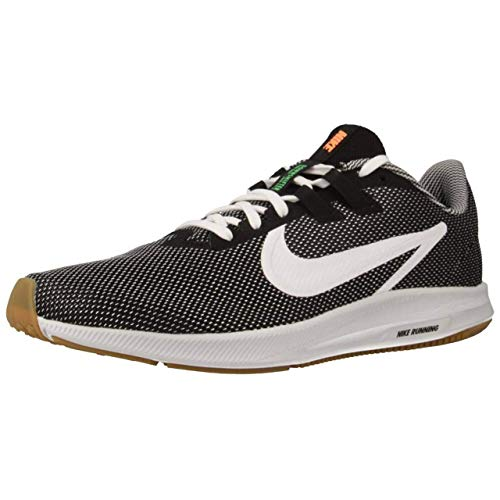Nike Downshifter 9 Se, Zapatillas de Running para Asfalto Hombre, Multicolor (Black/White/Gum Light Brown 001), 41 EU