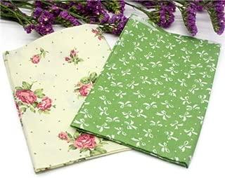 Best Quality 2pcs 3pcs Set Cotton Fabric Patchwork Bed Pillow Stitching Dress DIY, Plaid Fabric Squares - Vintage English Linen, Liberty Quilts, Autumn Patchwork, Antique Restore, Hawaiian Patchwork