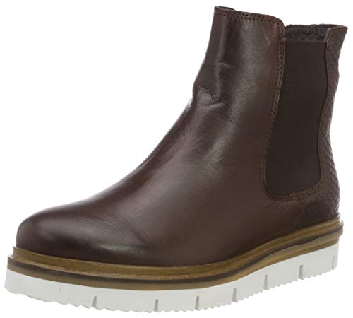 Bianco Damen Warm Cleated Chelsea Boots, Braun (Dark Brown 200), 39 EU