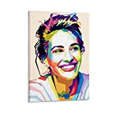 jiandan Julia Roberts Popart-Poster und Wandkunstdruck,