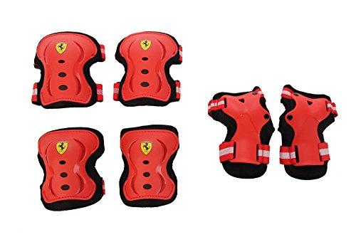 Ferrari Skate Inline Protektor, Todo el año, Unisex, Color Rojo - Rojo, tamaño Small