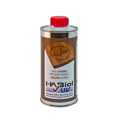 HABiol UV 250ml Holzöl Holzpflege Arbeitsplattenöl Möbelöl Küchenplattenöl Terrassenöl Gartenmöbelöl für Innen & Außen…