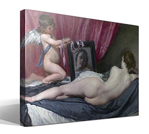 Cuadro Canvas La Venus del Espejo de Diego Rodríguez de Silva y Velázquez