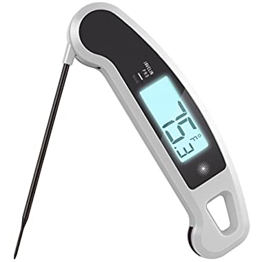 Lavatools Javelin PRO Duo Limited Edition 003 Ambidextrous Backlit Instant Read Digital Meat Thermometer (Panda)