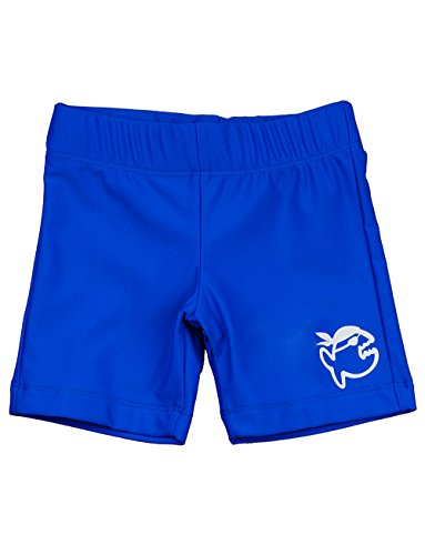 IQ-UV 300 Kinder Badehose Schutz Shorts, Blau (Dunkelblau), 116/122