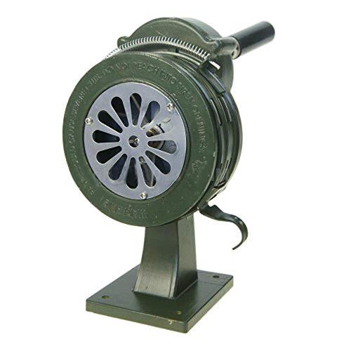 990632 Kurbel Handbetrieben Luft Sirene Horn Feuer Notfall Sicherheits Alarm 110DB