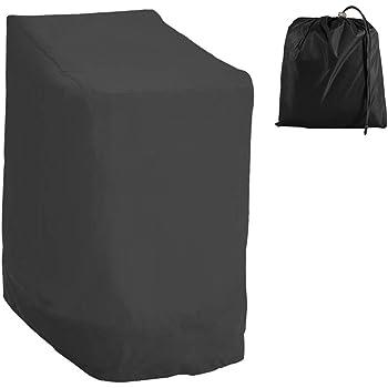 Purovi® Housse Protectrice pour chaises empilables   Housse